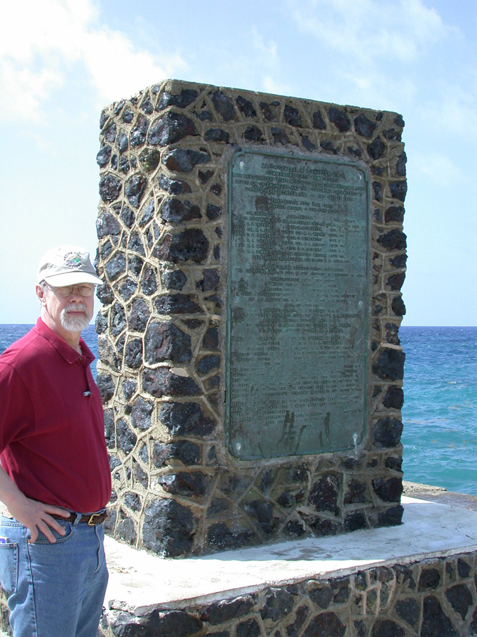 Monument to US army landing at Siboney