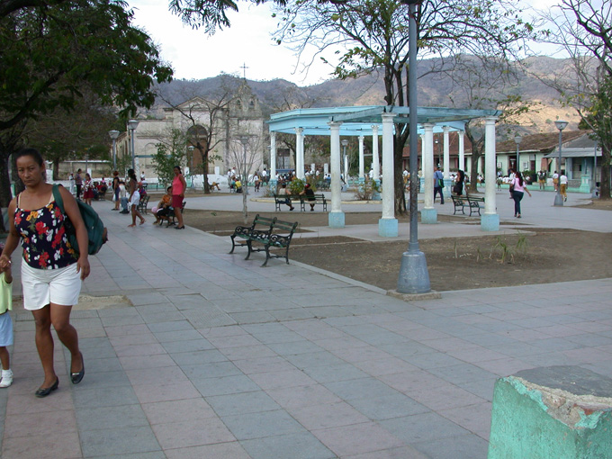 The plaza of El Caney