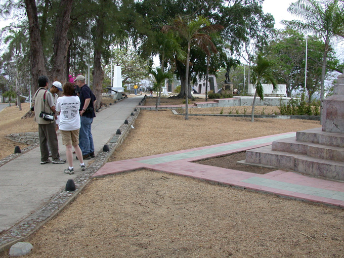 San Juan Heights park and memorial area