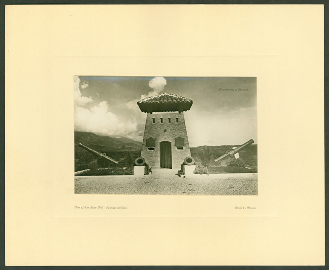 Blockhouse Monument, San Juan Hill in 1928