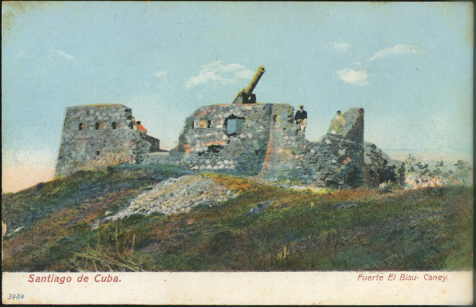 Fuerte El Bisu Caney Imagery Cuban Battlefields Of