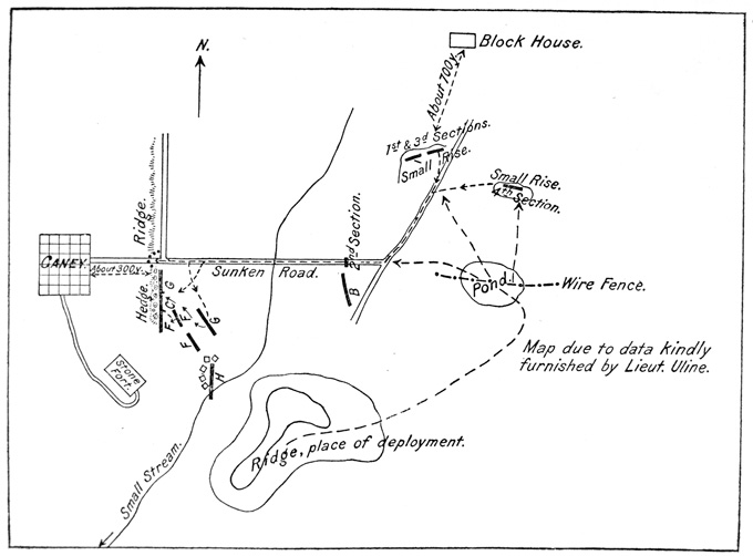 War Department, Map, Page 700