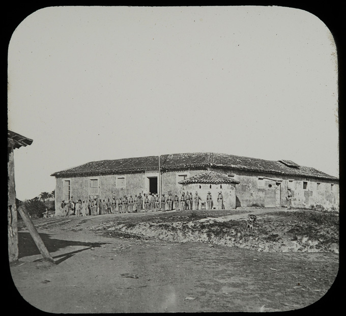Soldiers at Fort in San Juan